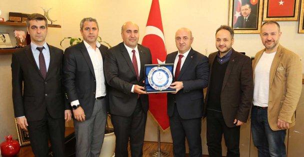 TÜMSİAD'dan Darıca Belediye Başkanı'da ziyaret