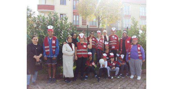 Türk Kızılay'ı Darıca Şubesi, Özel Çocuklara Etkinlik Düzenledi