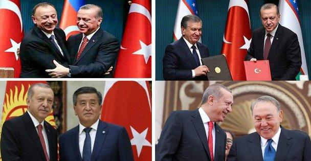 Türk Konseyi Zirvesi Azerbaycan'da Toplandı