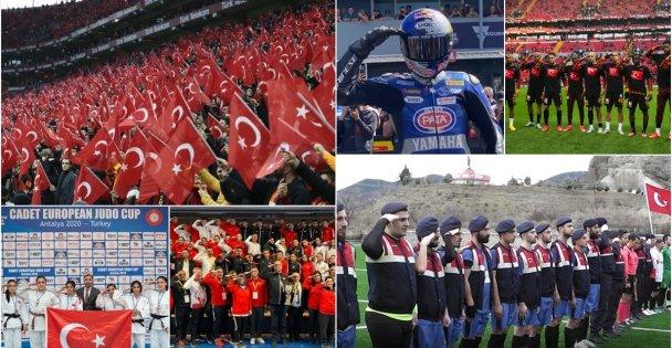 Türk spor camiası Mehmetçik için 'tek yürek'