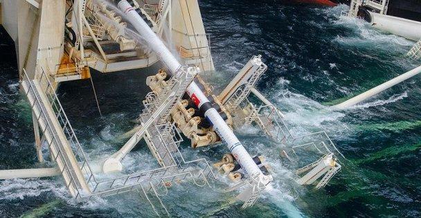TürkAkım'ın deniz geçişinin yüzde 30'u tamam