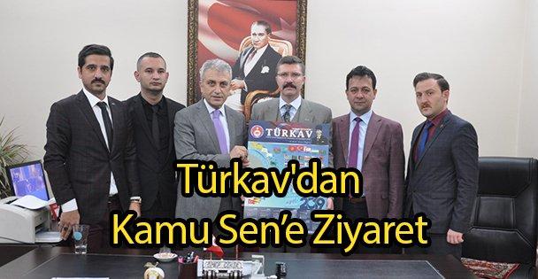 Türkav'dan Kamu Sen'e Ziyaret