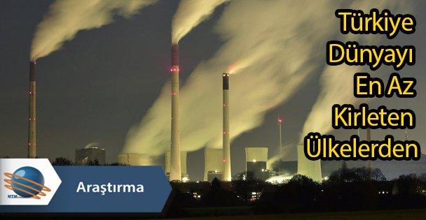 Türkiye Dünyayı En Az Kirleten Ülkelerden