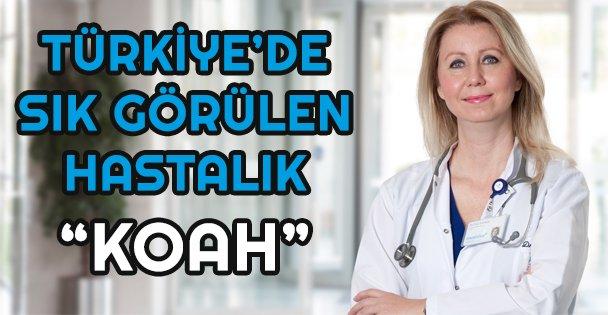 Türkiye'de en sık görülen 4'üncü hastalık: KOAH