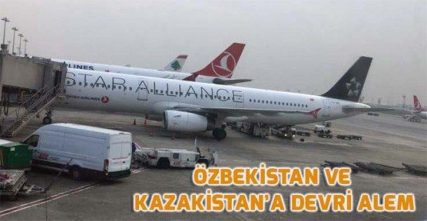 Türkiye'den Özbekistan ve Kazakistan'a Devri alem