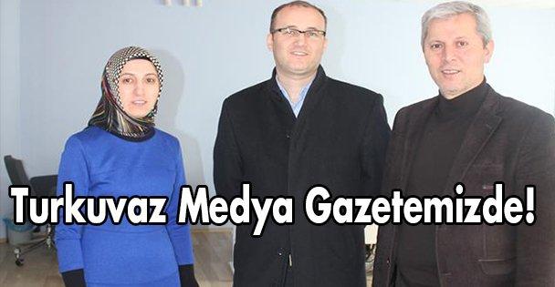 Turkuvaz Medya Gazetemizde!