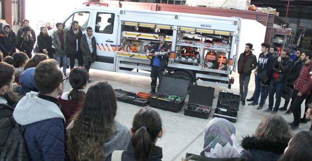 Üniversiteli Öğrenciler AFAD'da