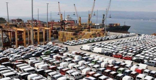 Üretilen her 100 araçtan 86'sı ihraç edildi