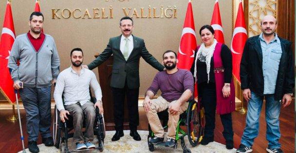 Vali Aksoy'dan engelliler günü mesajı
