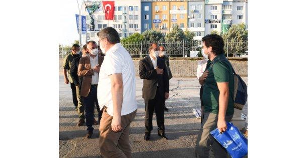Vali Seddar Yavuz, Vatandaşlarla Bayramlaştı