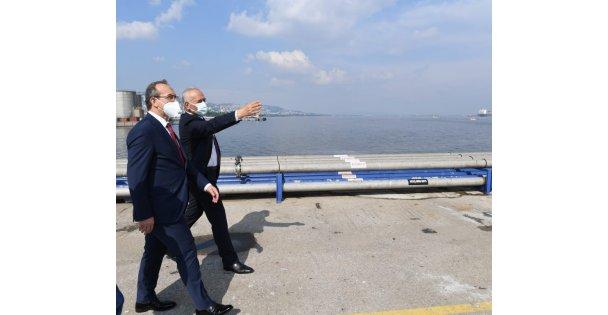 Vali Yavuz, Koruma Klor Alkali Fabrikasını Ziyaret Etti