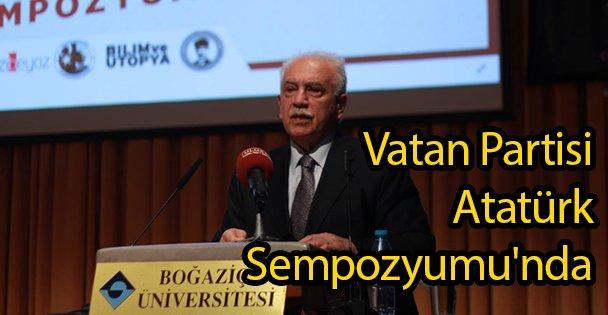 Vatan Partisi Atatürk Sempozyumu'nda