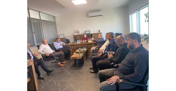 Vekil Şeker ve Başkan Acay Darıca'da ziyaretlerde bulundu!