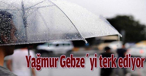 Yağmur Gebze'yi terk ediyor