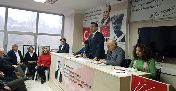 Yakup Törk seçim çalışmalarına devam ediyor