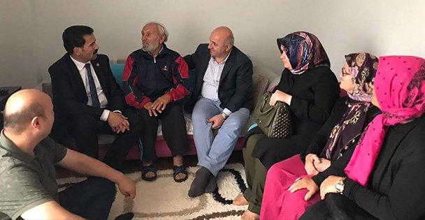 Yaman, Darıca'da kapı kapı dolaştı
