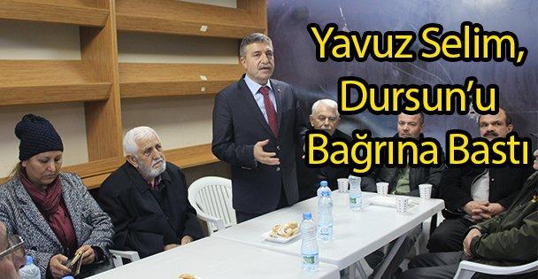 Yavuz Selim Dursun'u Bağrına Bastı