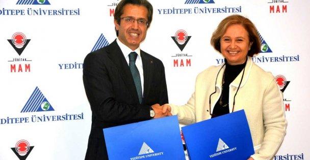 TÜBİTAK MAM Yeditepe Üniversitesi iş birliği