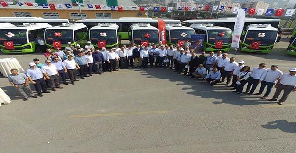 Yeni Jest Otobüs Hizmete Alındı