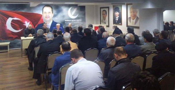 Yeniden Refah Partisi İl Yönetim Kurulu Toplantısı Gerçekleştirildi