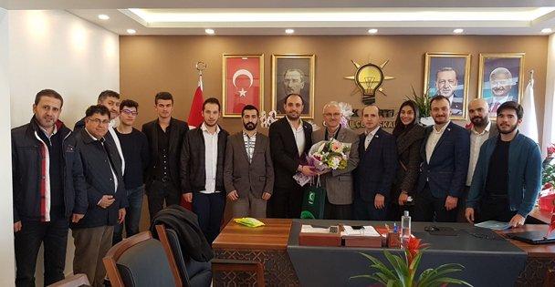 Yeşilay'dan Ak Parti yönetimine ziyaret