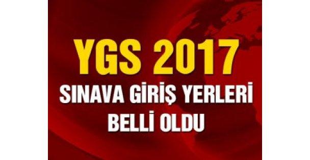YGS sınav giriş yerleri açıklandı