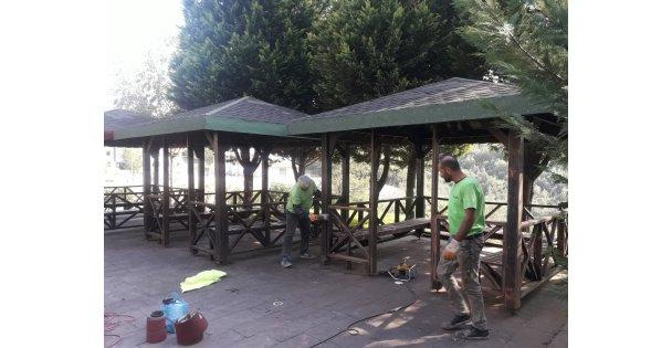 Yuvam Akarca 2. etap parkı yenileniyor