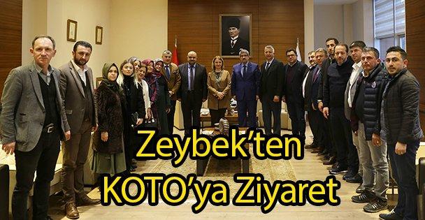 Zeybek'ten KOTO'ya Ziyaret