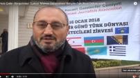 Kırgızistan Türkiye Manas Üniversitesi İletişim Fakültesi Dekan vekili Hamza Çakır
