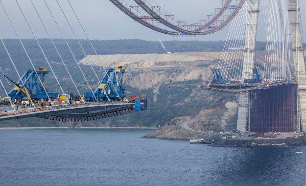 3.Köprü'de iki yakanın birleşmesine 535 metre!