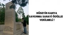 Hüseyin Kahya (Hiçyılmaz) Anıt