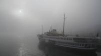 İstanbul Boğazı'nda yoğun sis