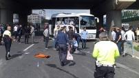 Gebze'de trafik kazası:1 ölü,15 yaralı
