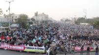 Müslümanlara Yönelik Şiddet Protesto Edildi!