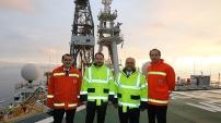 Türkiye'nin ilk sondaj gemisi İzmit Körfezi'nde